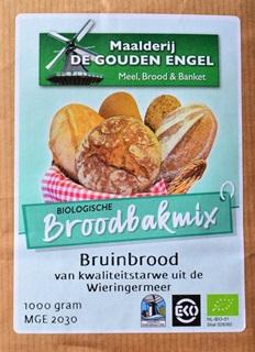 EKO-Broodbakmix Bruin