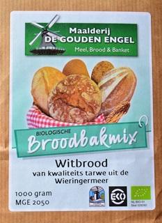 EKO-Broodbakmix Wit